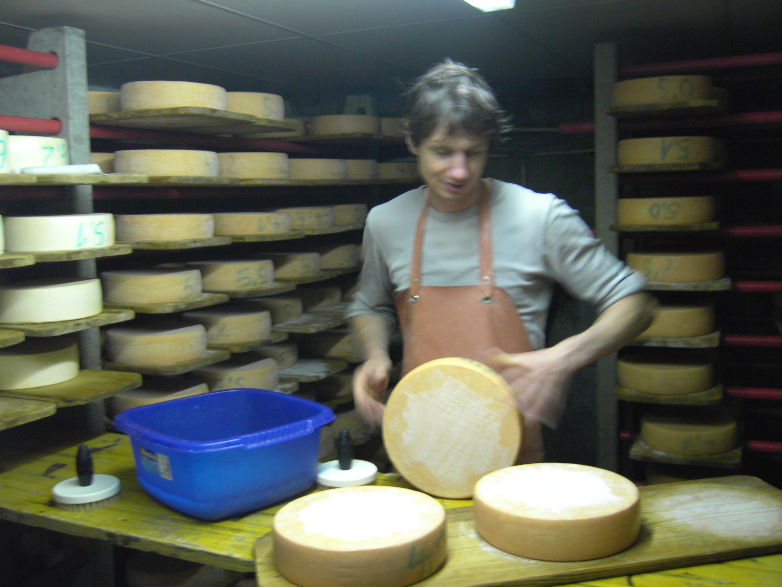 käse richtig schmieren